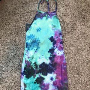 Tie Dye Bodycon Dress **Brand New